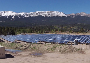 mmunity-owner solar array. Photo courtesy Clean Energy Collective