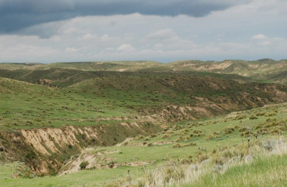 The Arikaree Breaks in northwestern Kansas is home to ancient soils that were covered in loess deposits over thousands of years. Photo by Joe courtesy Creative Commons.