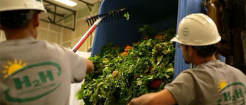How one company is feeding farms with food waste