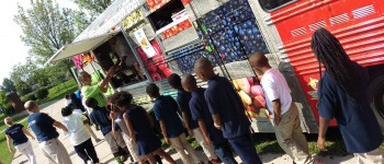 How schools are seducing students with food trucks